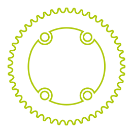 Socke Bontrager Race 13cm Wool Black